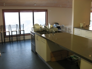 Asterix Ski Lodge Kitchen