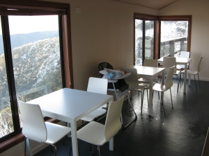 Asterix Ski Lodge Tables