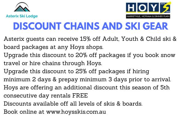 Hoys Discount Offer