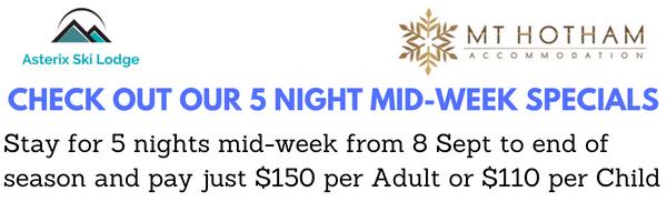 Mid-Week Specials